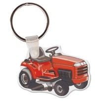 Riding Lawn Mower Key Tag W/ Key Ring