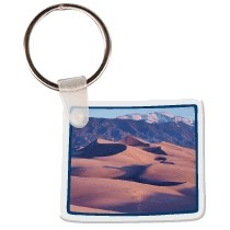 Colorado Shaped Key Tag W/ Key Ring