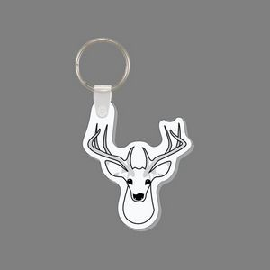 Key Ring & Deer Head Punch Tag W/ Tab
