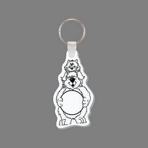 Key Ring & Dog & Cat Punch Tag W/ Tab