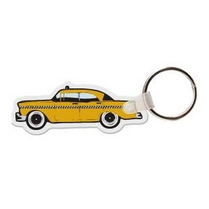 Taxi Cab Key Tag W/ Key Ring