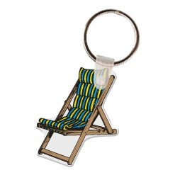 Lawn Chair Key Tag W/ Key Ring